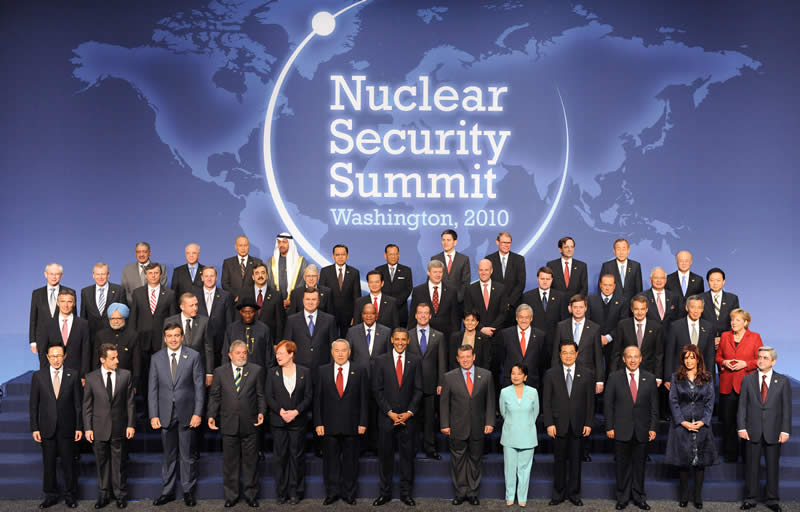 Global leaders attend the summit in Washington, DC